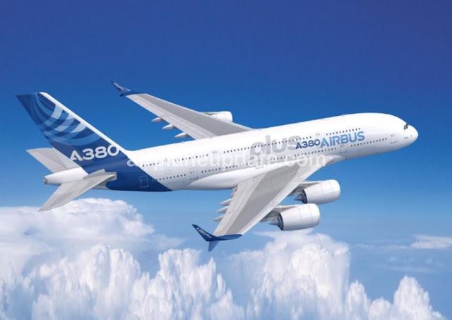 Airbus A380 super jumbo jet