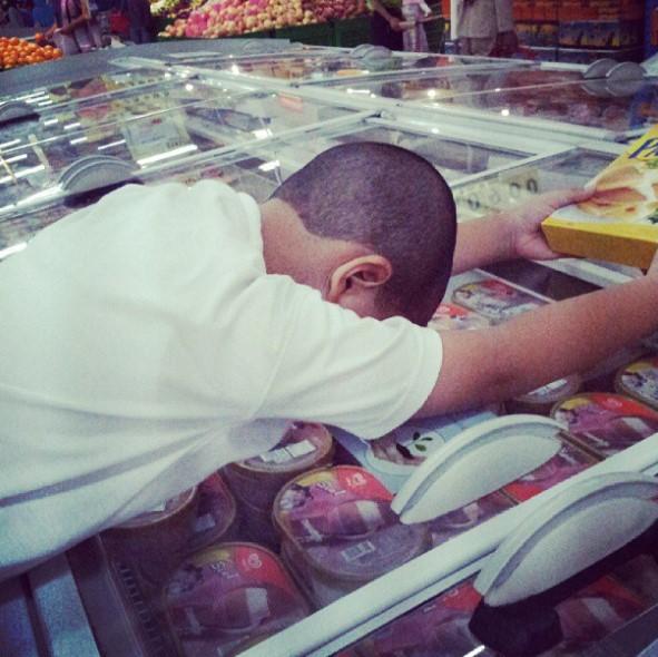 mengajarkan anak puasa ramadhan Abang belanja