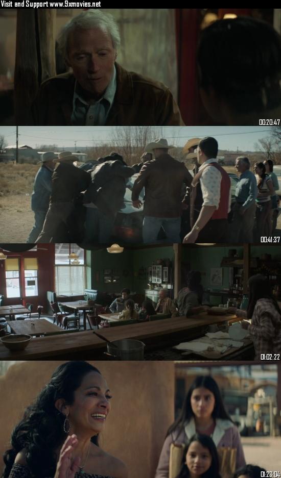 Cry Macho 2021 English 720p 480p WEB-DL [850MB 300MB] ESubs