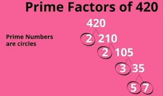 factor tree 420