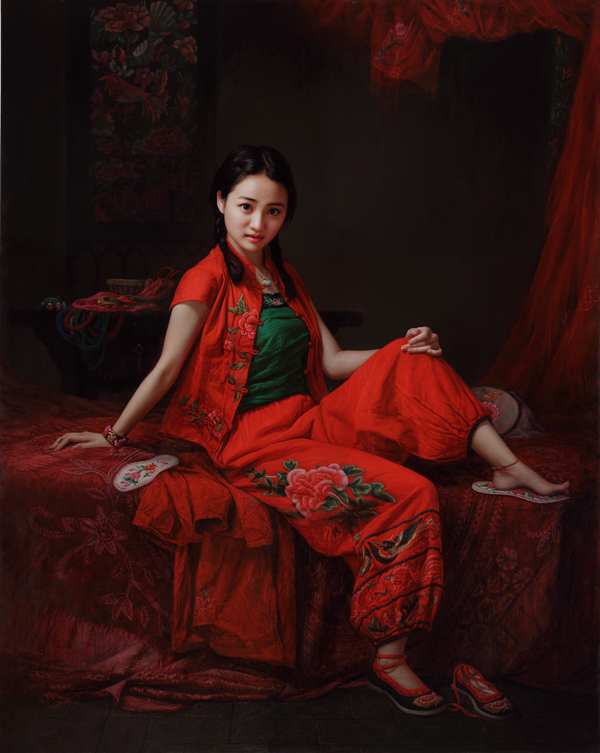 50+ Women Paintings by 安静(An Jing)