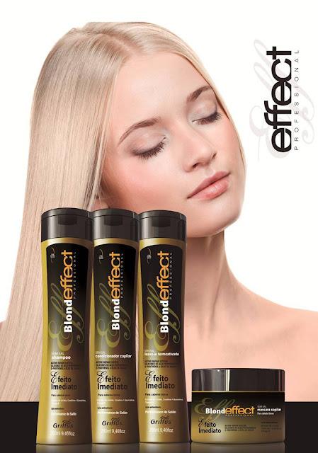 As loiras não podem deixar de conhecer a linha Blond Effect Professional