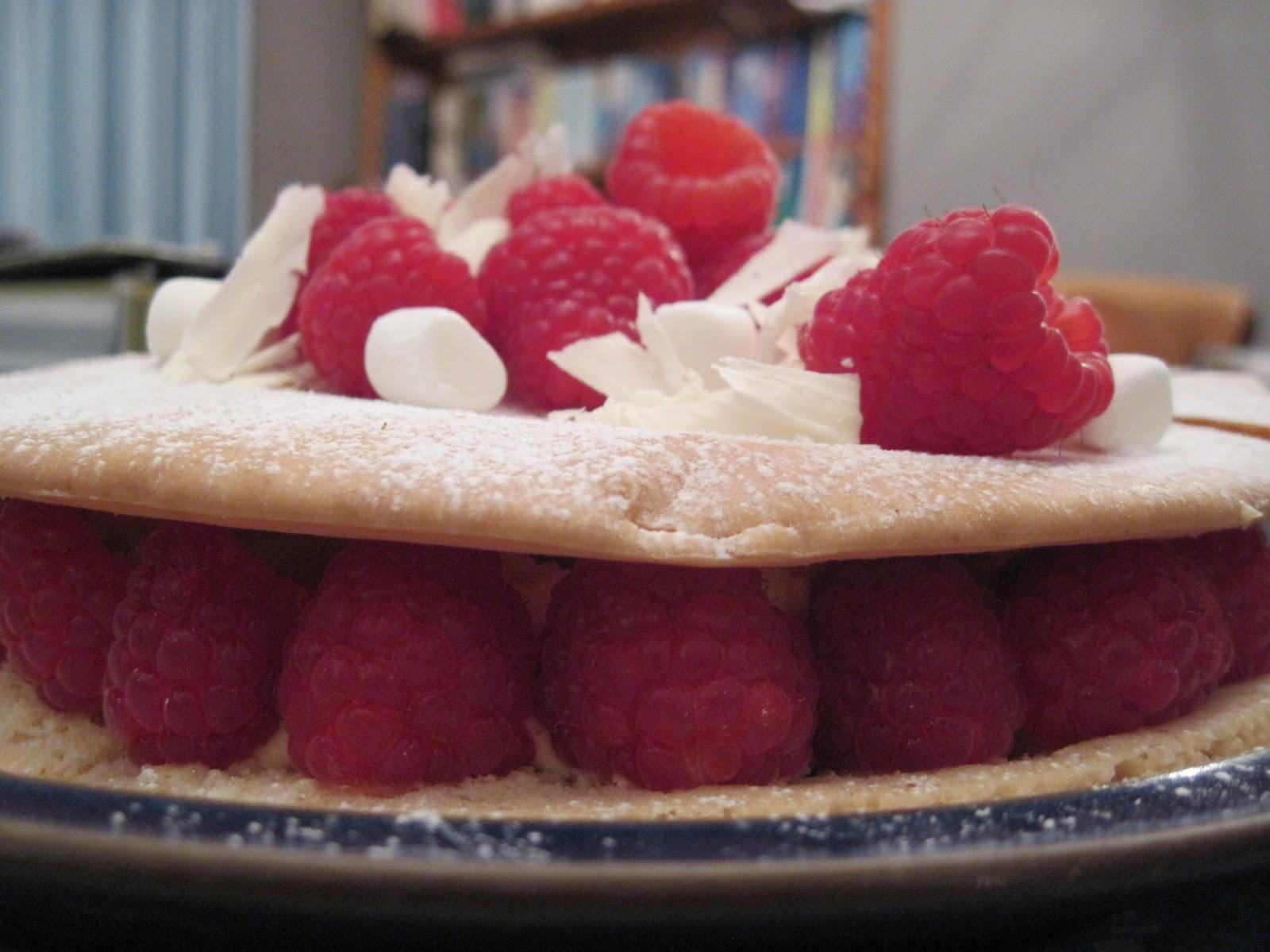 The Sugar Lump Macaron Cake Raspberry Amp Vanilla