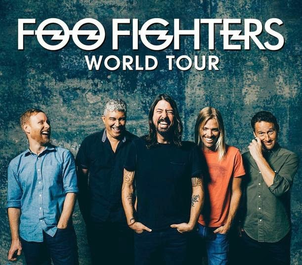 Próximos shows 2015 banda Foo Fighters no Brasil