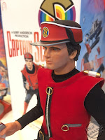 Toy Fair 2017 Big Chief Studios Captain Scarlet 12 inch action figures
