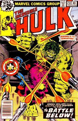 Incredible Hulk #232, Captain America