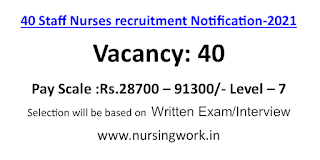 Staff Nurse Opportunities in Thane Municipal Corporation-2021