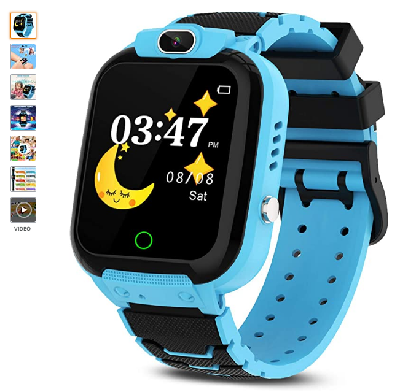 CMKJ Kids Smartwatch with 7 Games, Waterproof Watch for Children with MP3