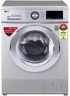LG 8 Kg Inverter Fully Automatic Front Loading Washing Machine (FHM1208ZDL)