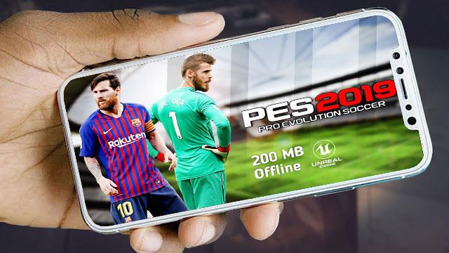 تحميل لعبة PES 2019 PSP LITE للاندرويد باخر الانتقالات و