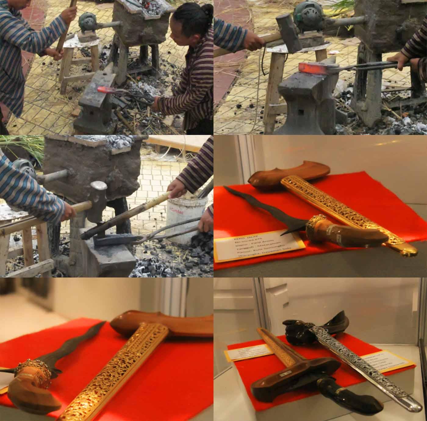 Proses Pembuatan Keris