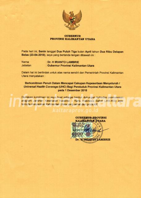 26 grafis%2BBPJS2 - Komitmen Gubernur, 1 Desember 2018 Kaltara UHC