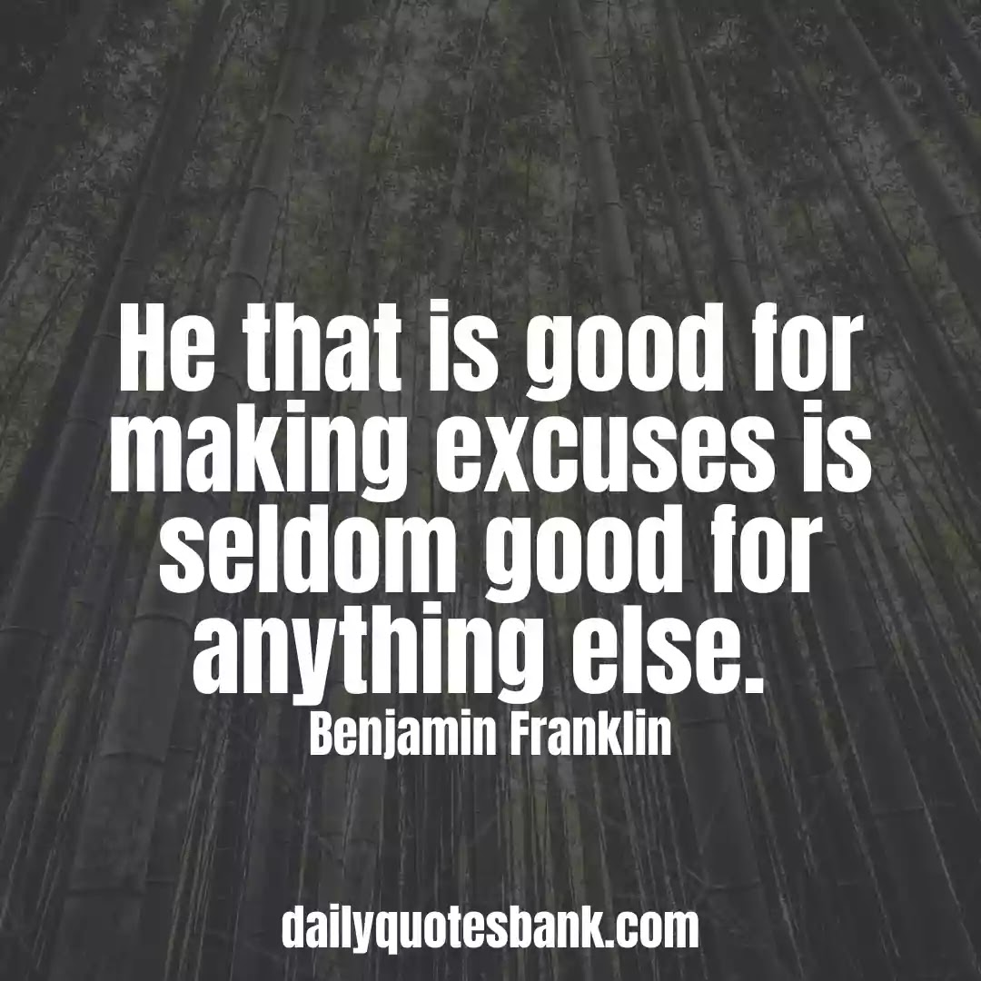 Benjamin Franklin Quotes That Will Help Think Positive