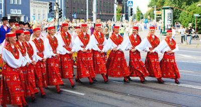 Dance Festival in Tallinn