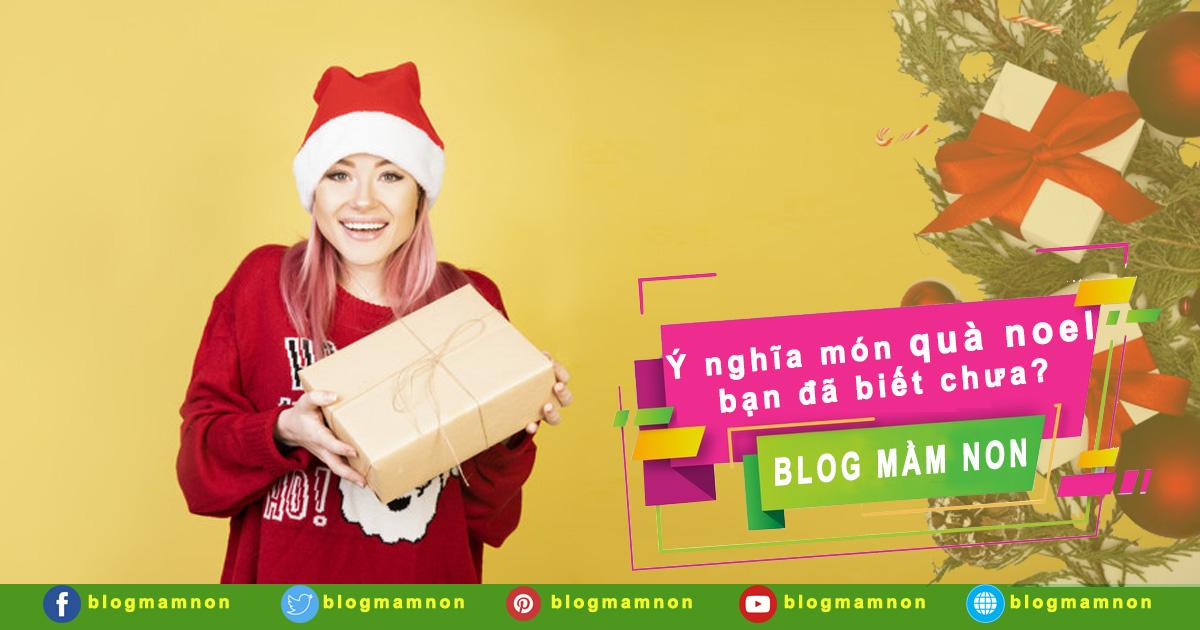 Ý nghĩa của món quà giáng sinh bạn đã biết chưa?