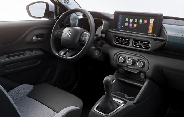 Interior Citroën C3 2022
