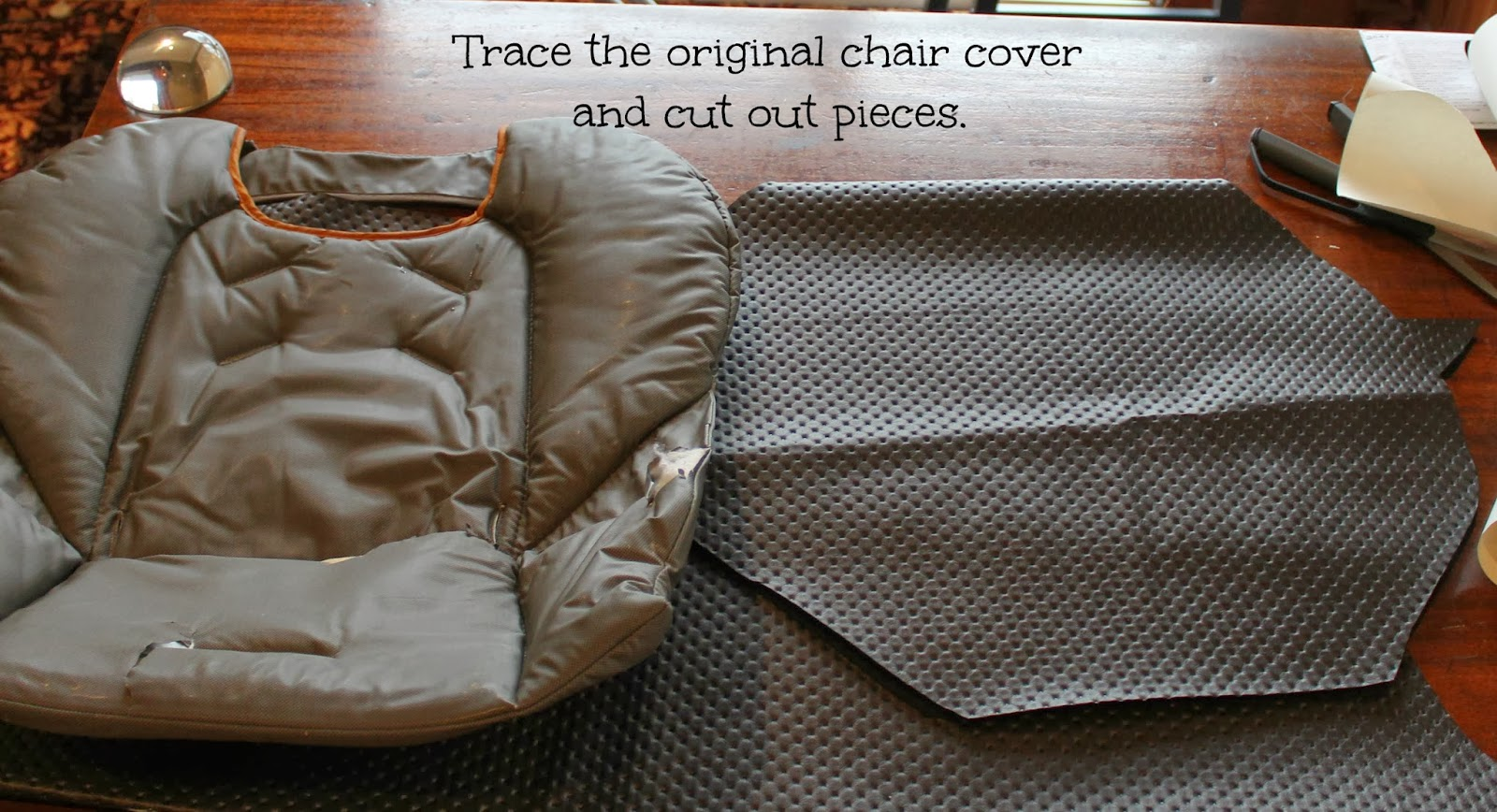 Astonishing City Girl Country Life High Chair Makeover Alphanode Cool Chair Designs And Ideas Alphanodeonline