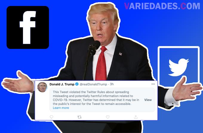Trump tem postagem sobre Covid deletada pelo Facebook e oculta pelo Twitter