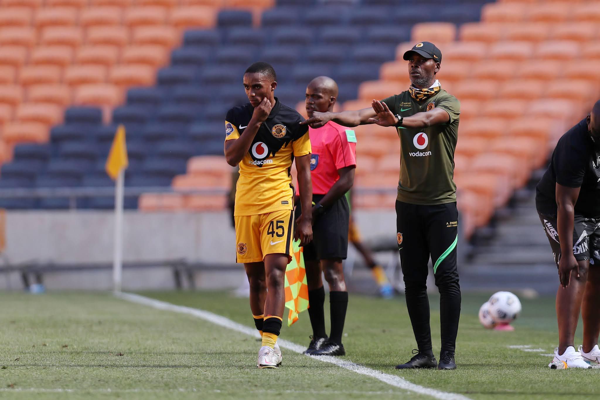 Njabulo Blom and Arthur Zwane