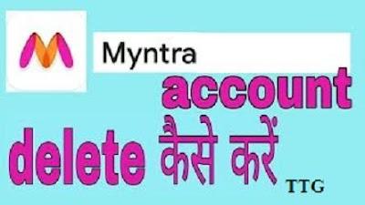 Delete Myntra Account