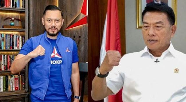 Blak-blakan, Pendiri Partai Demokrat Ingin Moeldoko Gantikan AHY