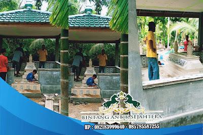 Makam Bokoran | Kijing Makam Bokoran Tumpuk | Model Kijing Marmer