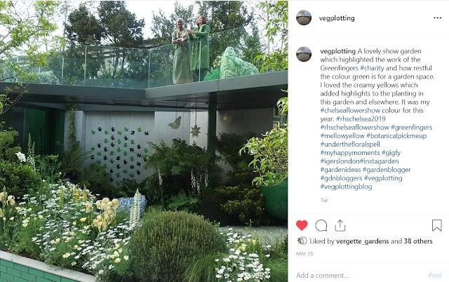Greenfingers show garden