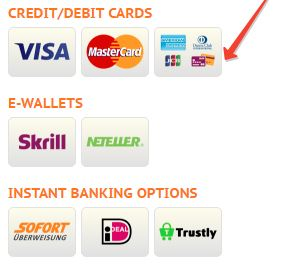 three payment options