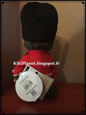 Le Monchhichi National London Boy  - réf 276000, horse guard, kiki, vintage, toys, peluche, touts, plush