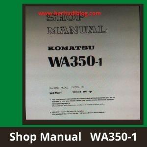 WA350-1 Shop manual wheel loader komatsu
