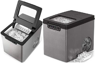 Vremi Ice Maker - Portable Countertop Energy friendly Ice-Making Machine