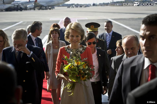 Crown Prince Philippe and Crown Princess Mathilde on second day of the economic mission in Turkey