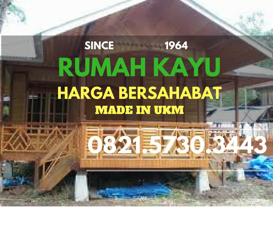 Jual Rumah Kayu Minimalis Modern Jasa Rumah Kayu 082157303443