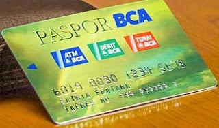 Kartu ATM BCA Tapres lama