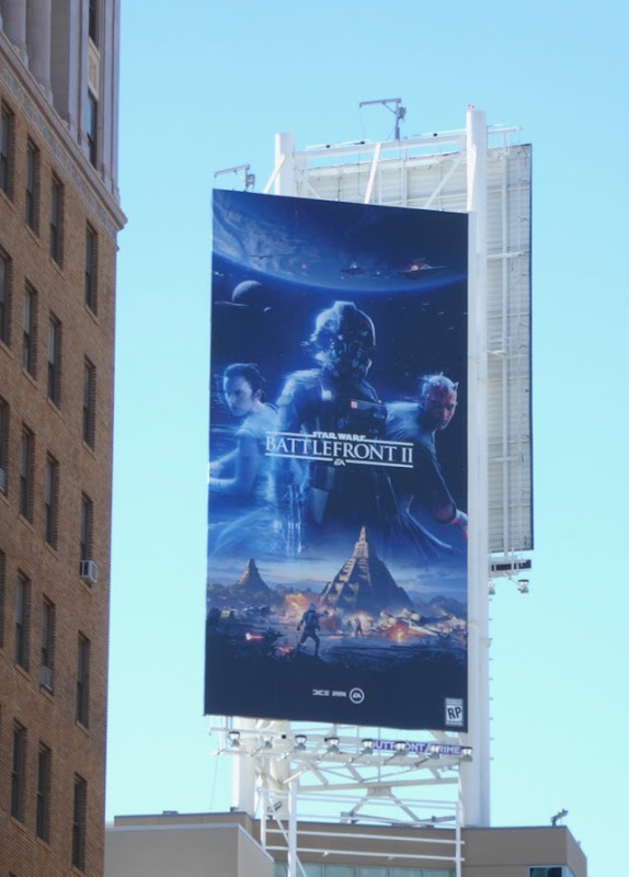 Star Wars Battlefront II billboard