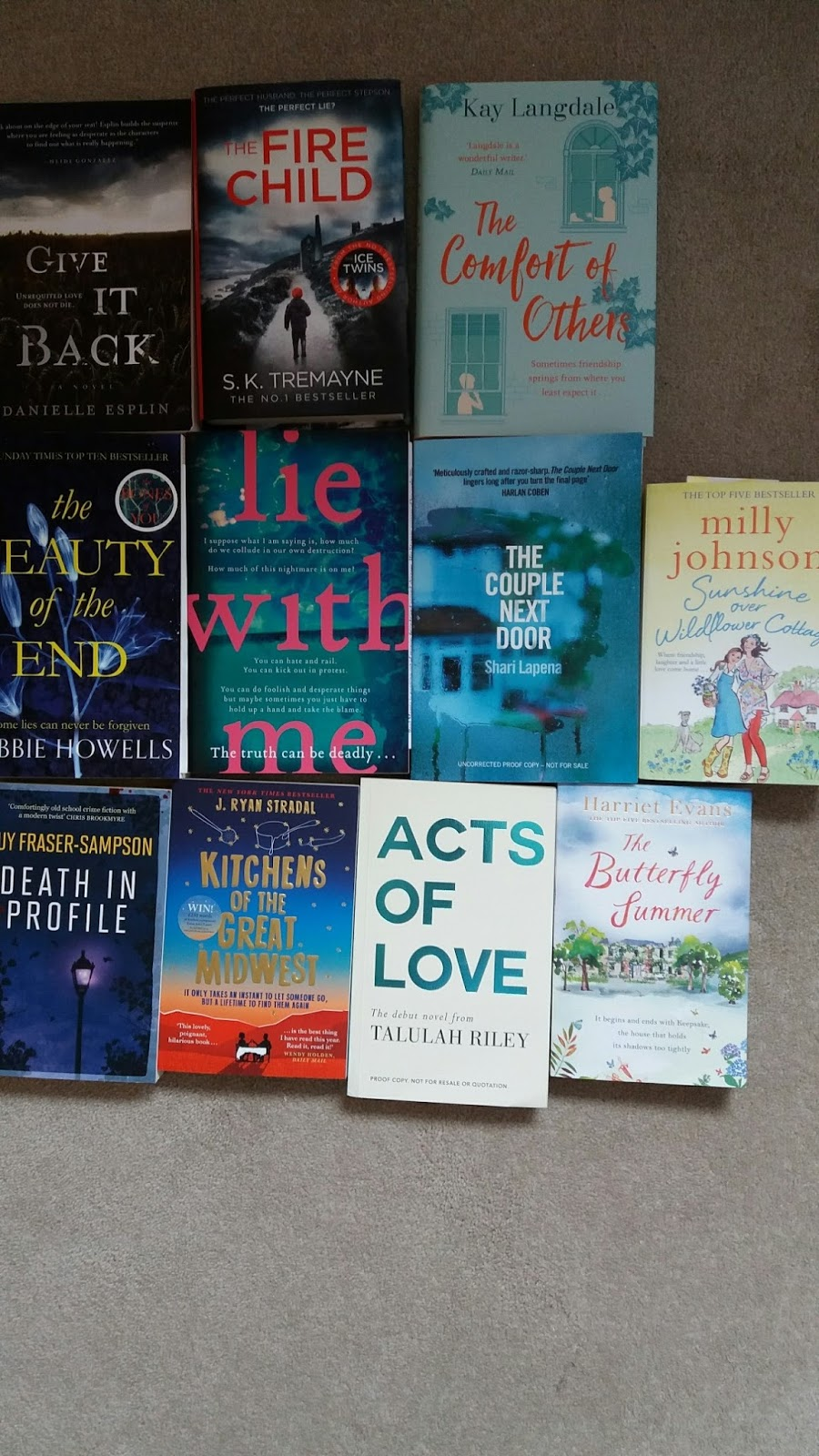 May 2016 - Books and Events - My Reading Corner