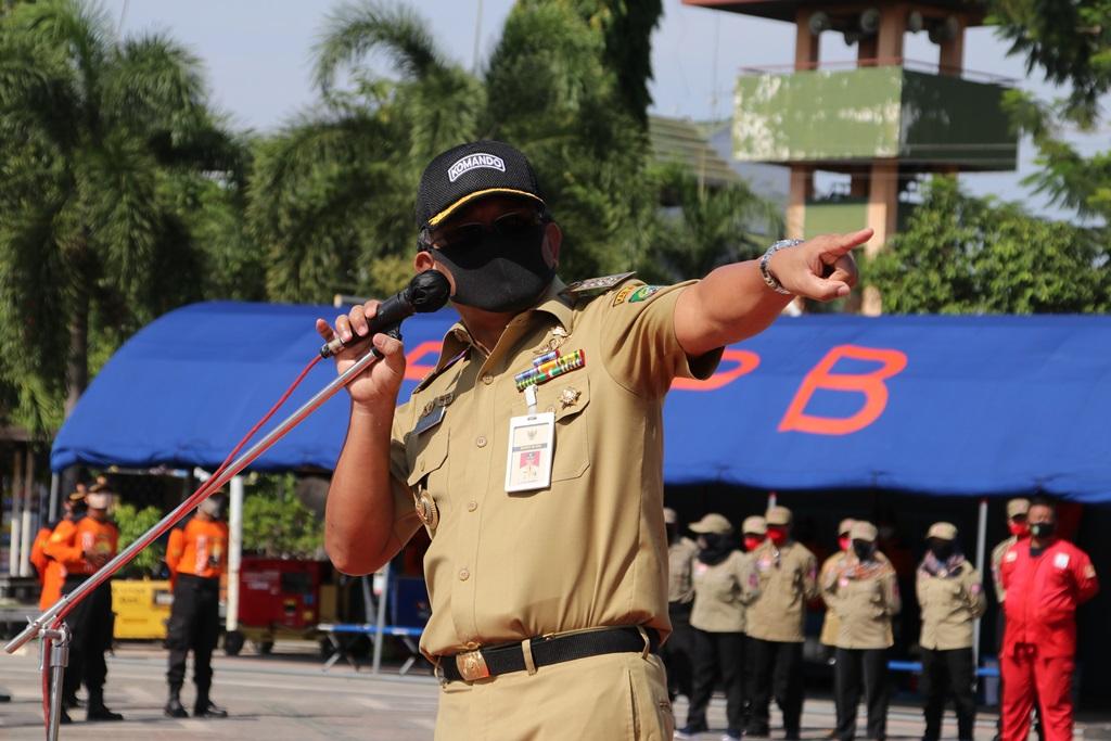 INDES-SOSIAL-BLORAAti-ati Indonesia Toserba Bencana Bupati