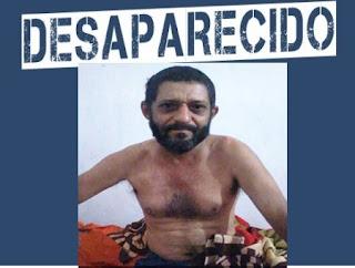 Família de Baraúna procura parente desaparecido