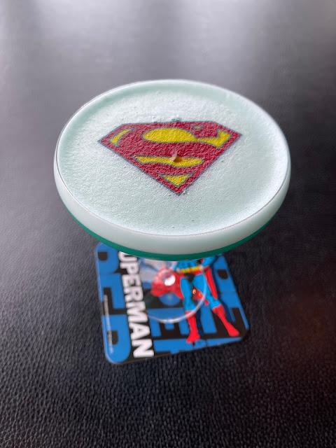 Superman Sky-high Drink スーパーマン スカイハイドリンク  1,400円(税込) (@ THE MOON in 港区, 東京都)