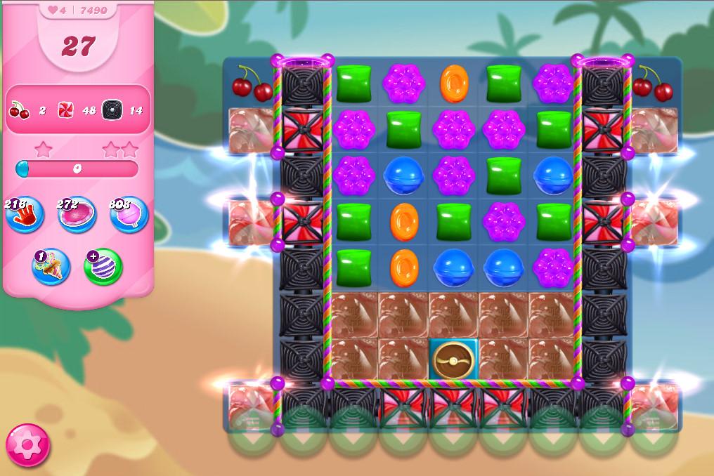 Candy Crush Saga level 7490
