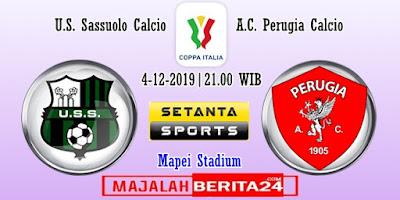 Prediksi Sassuolo vs Perugia — 4 Desember 2019