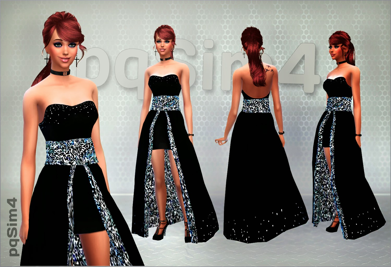 Vestidos formales sims 4
