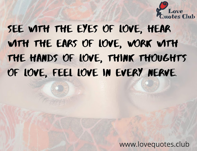 love quotes for eyes