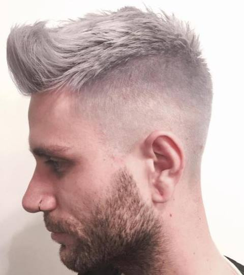 Model Rambut Choppy Grey