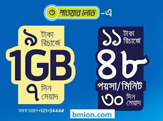 Grameenphone Gp Bondho SIM Offer 2019  1GB 9Tk & 48 Poisha/minute