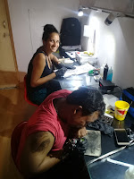 Tattoo Training Center, Tattoo Making Classes, Sally Nassar