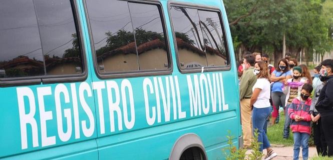 Operativo Registro Civil Móvil: se tramitaron 198 DNI en San Rafael
