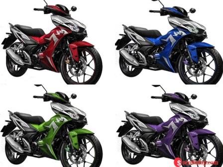 varian warna Honda Supra GTR terbaru
