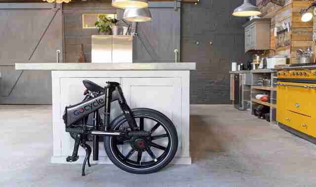 Gocycle Unveils Fast Folding Electric Bikes
