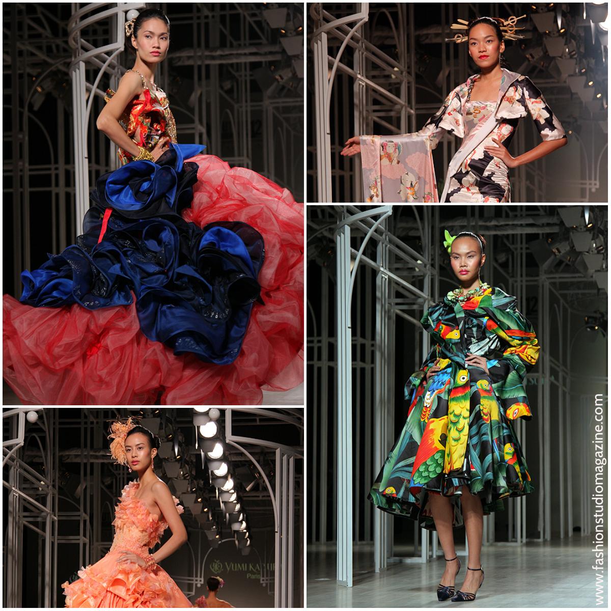 Fashion Studio Magazine International Couture Fashion Week 2012 Yumi Katsura